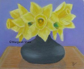 Daffs in Vase
